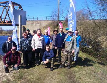 Mistrzostwa Koła Nr 100 BISTYP w Dyscyplinie Spławikowej  I tura Nieporęt 07.04.2018r.