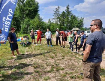 Zawody o Mistrzostwo Koła 100 BISTYP w Dyscyplinie Feeder tura I- 20.06.2020r. Kuligów nad Bugiem