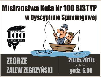 Mistrzostwa Koła Nr. 100 BISTYP w Dyscyplinie Spinningowej