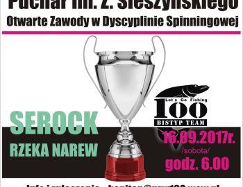 Puchar im. Zygmunta Śleszyńskiego - Serock 16.09.2017