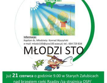 Zajęcia  Szkółki Wędkarskiej  ,,MŁODZI STO,,