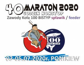 MARATON 2020 SPŁAWIK/FEEDER 03-05.07.2020 PONIKIEW - NAREW
